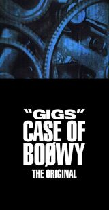 """『""""GIGS"""" CASE OF BOΦWY -THE ORIGINAL-』ジャケット写真"""