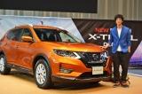 日産自動車の新型SUV『X-TRAIL』発表会に出席した渡部豪太 (C)oricon ME inc.