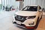 自動運転技術を搭載した新型SUV『X-TRAIL』の「ブリリアントホワイトパール」 (C)oricon ME inc.