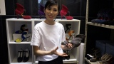6月13日放送、関西テレビ・フジテレビ系『7RULES(セブンルール)』シューズデザイナー・瀧見サキさんに密着(C)関西テレビ