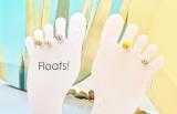 今夏トレンドの予感! 足の指先をおしゃれに魅せるトゥーリング専門ブランド「Floats!」が表参道ヒルズに
