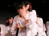 『第9回AKB48選抜総選挙』速報発表で1位となり号泣するNGT48荻野由佳(C)AKS