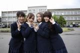 NHK・BSプレミアムで6月18日放送、『乃木坂46のガクたび!』第2弾に出演する(左から)高山一実、桜井玲香、星野みなみ、松村沙友理(C)NHK