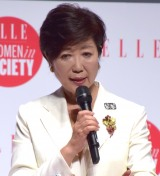 『ELLE WOMEN in SOCIETY 2017』に参加した小池百合子東京都知事 (C)ORICON NewS inc.
