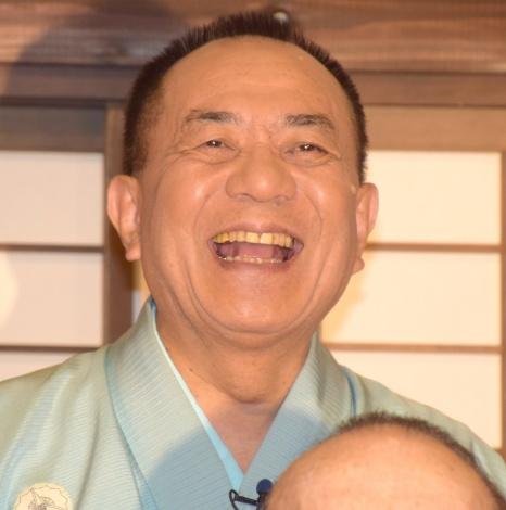 桂歌丸と共に取材に応じた『笑点』メンバー・三遊亭小遊三 (C)ORICON NewS inc.