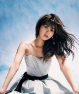 誌面デビューを果たした『sweet』初の専属モデル・姫野佐和子=『sweet』7月号(宝島社)