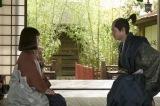 大河ドラマ『おんな城主 直虎』第24回より。庵原朝昌(山田裕貴)と直虎(柴咲コウ) (C)NHK