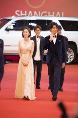 『第20回上海国際映画祭』に参加した上戸彩、斎藤工