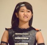 映画『JKニンジャガールズ』舞台あいさつに出席した田口夏実 (C)ORICON NewS inc.