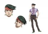 岸辺露伴(CV:櫻井孝宏)もテレビアニメシリーズからキャラクターデザインを一新(C)LUCKY LAND COMMUNICATIONS/集英社・ジョジョの奇妙な冒険DU製作委員会