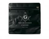 「フリーメイソン」グッズショップで販売されるフリーメイスンコーヒー(1200円・税抜)