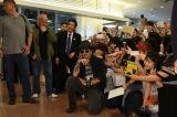 ジョニー・デップが日本に到着。出迎えのファンに神対応(C) 2017 Disney Enterprises, Inc. All Rights Reserved.