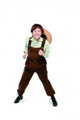 ミュージカル『にんじん』で14歳の少年・にんじん役を演じる大竹しのぶ