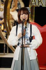 15位で2年ぶり選抜入りを果たしたSKE48・高柳明音(C)AKS