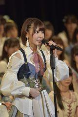 4位にランクインしたHKT48・宮脇咲良(写真:島袋常貴)