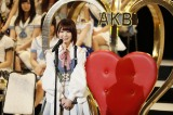 """""""来年1位""""宣言をしたHKT48・宮脇咲良(C)AKS"""