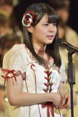 13位で初の選抜入りを果たしたNGT48・本間日陽(写真:島袋常貴)