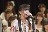 """最終5位で初""""神7""""入りを果たしたNGT48・荻野由佳(写真:島袋常貴)"""