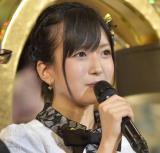 結婚宣言をしたNMB48・須藤凜々花(写真:島袋常貴)