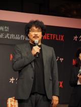 映画『オクジャ/Okja』のプロモーションのため来日したポン・ジュノ氏 (C)ORICON NewS inc.