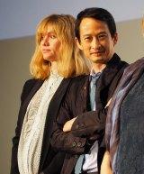 『フランス映画祭2017』のオープニングセレモニーには、『ノルウェイの森』のトラン・アン・ユン監督(右)も出席した (C)ORICON NewS inc.