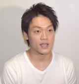浮気を認め、山崎夕貴アナウンサーに謝罪したおばたのお兄さん (C)ORICON NewS inc.