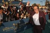 映画『パイレーツ・オブ・カリビアン/最後の海賊』(7月1日公開)に出演するジェフリー・ラッシュ。LAプレミアにて(C)2017 Disney Enterprises, Inc. All Rights Reserved.