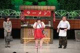 吉本新喜劇の舞台に出演する酒井藍