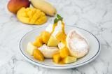 旬のマンゴーをたっぷり使った贅沢仕様!『奇跡のパンケーキ マンゴー』