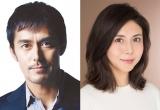 映画『祈りの幕が下りる時』で初共演する(左から)阿部寛、松嶋菜々子