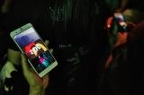 専用アプリ『NEO TOKYOアプリ』と連動し、より観客との距離が近くに Photo/田辺佳子