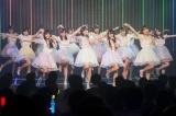 新アルバムのリード曲「まさかシンガポール」を選抜18人で初披露(C)NMB48