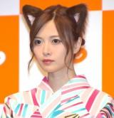 『じゃらん』の新CM発表会に参加した乃木坂46・白石麻衣 (C)ORICON NewS inc.