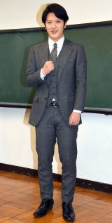 笑点ドラマスペシャル『桂歌丸』(仮)で桂歌丸を演じる尾上松也 (C)ORICON NewS inc.