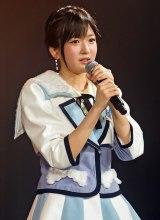 NMB48劇場でファンに騒動を謝罪した須藤凜々花(C)NMB48