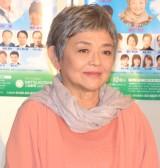 舞台『ペコロスの母に会いに行く』の制作発表会見に参加した藤田弓子 (C)ORICON NewS inc.