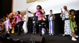 「アンパンマン音頭」を踊るドリーミングと子どもたち (C)ORICON NewS inc.