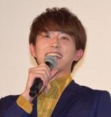 映画『兄に愛されすぎて困ってます』の初日舞台あいさつに出席した杉野遥亮 (C)ORICON NewS inc.
