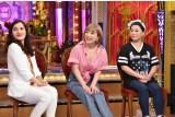 5日に放送される日本テレビ系『今夜くらべてみました2時間SP』(後9:00)に出演する平野ノラ、浜崎あゆみ、友近 (C)日本テレビ