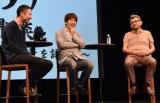 映画『メアリと魔女の花』公開記念特別イベントに出席した(左から)西村義明氏、川上量生氏 、庵野秀明氏 (C)ORICON NewS inc.