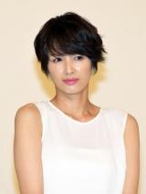 フジテレビ系ドラマ『セシルのもくろみ』(7月13日スタート)制作発表に出席した吉瀬美智子 (C)ORICON NewS inc.