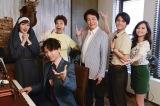 (左から)高梨臨、山崎育三郎、前田美波里、鹿賀丈史、中尾暢樹、山賀琴子(C)テレビ朝日