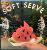 『What-a-Melon Soft Serve(ウォーターメロン ソフトサーブ)』(税込価格:1000円)