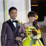 長友佑都との結婚式を公開した平愛梨(写真はインスタグラムより)