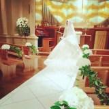 長友佑都との結婚式の様子を公開した平愛梨(写真はインスタグラムより)