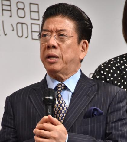 『8月8日「笑いの日」』開催発表会見に出席した西川きよし