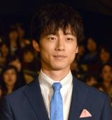 ドラマ『ごめん、愛してる』のプレミアム試写会後舞台あいさつに出席した坂口健太郎 (C)ORICON NewS inc.