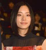 ドラマ『ごめん、愛してる』のプレミアム試写会後舞台あいさつに出席した大西礼芳 (C)ORICON NewS inc.