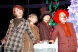 『Guru Guru Tree by THE WORLD OF TIM BURTON』点灯式に出席したSEKAI NO OWARI (C)ORICON NewS inc.