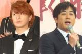(左から)SEKAI NO OWARI・Fukase、安住紳一郎 (C)ORICON NewS inc.